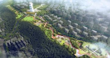 [陕西]航天城文化生态园整体景观概念设计(奥雅设计)
