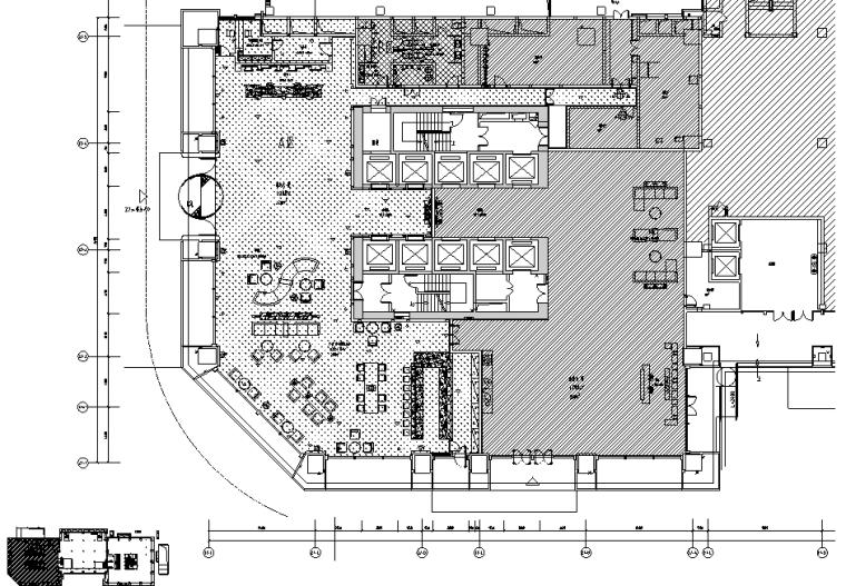 成都维尔酒店施工图设计+效果图