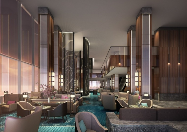 [ABConcept]西安赛高城市广场洲际酒店深化设计方案+效果图