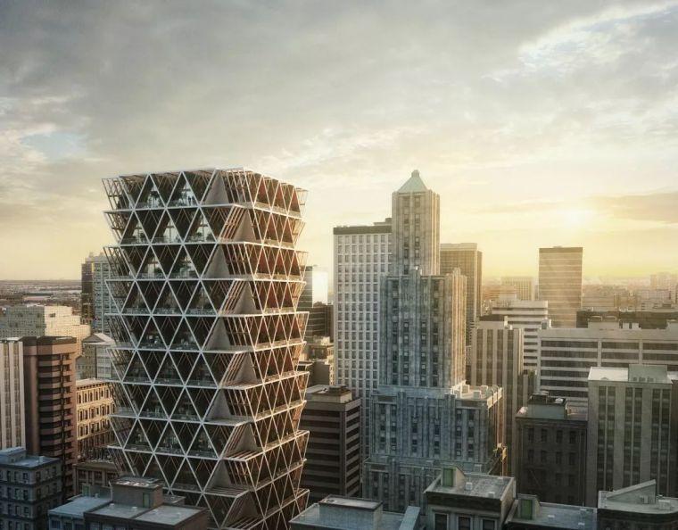 拥有独立生态系统的大楼-城市中的垂直农场_26