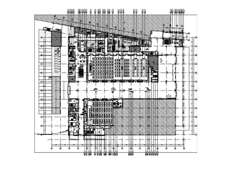 诺富特酒店&会展&商贸中心设计施工图(附效果图)