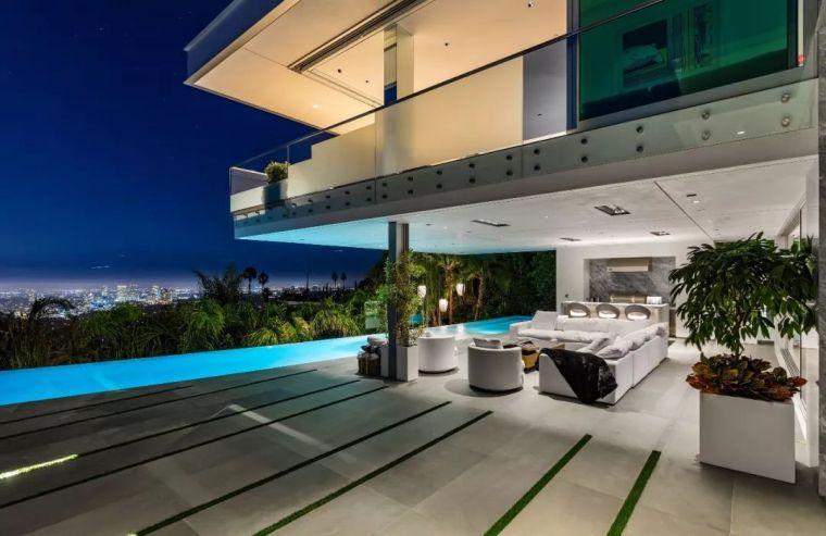 3.98亿的超级山顶豪宅,无比奢侈的观景台_23