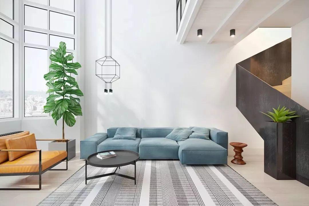 现在客厅都流行这么装,快扔掉你家笨重的大沙发吧!_12