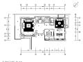 星河湾奢华新中式别墅设计施工图(附效果图)