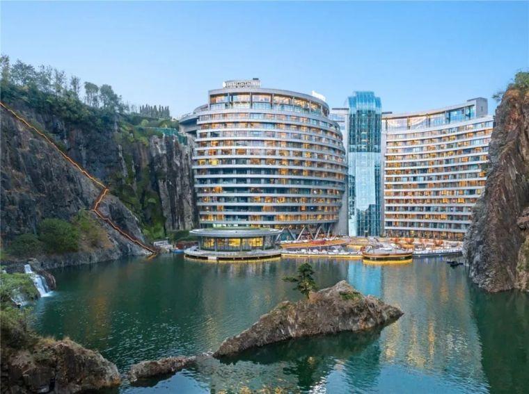 投入20亿的工程奇迹深坑酒店终于开业了,内部设计大曝光!_5