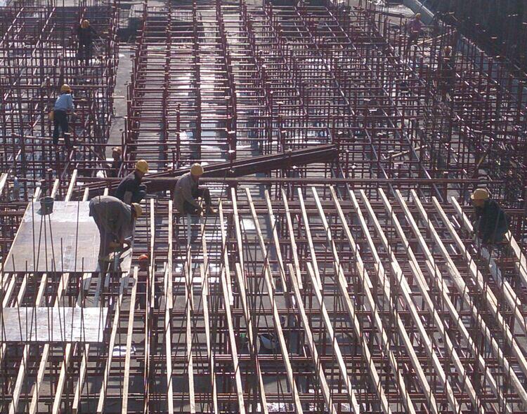 广东省建筑工程优质结构奖汇报材料-模板支撑体系
