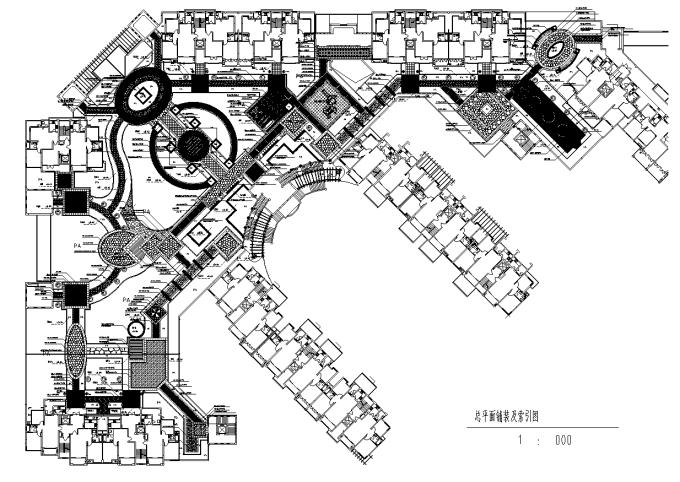 [深圳]商业大厦屋顶花园景观设计全套施工图