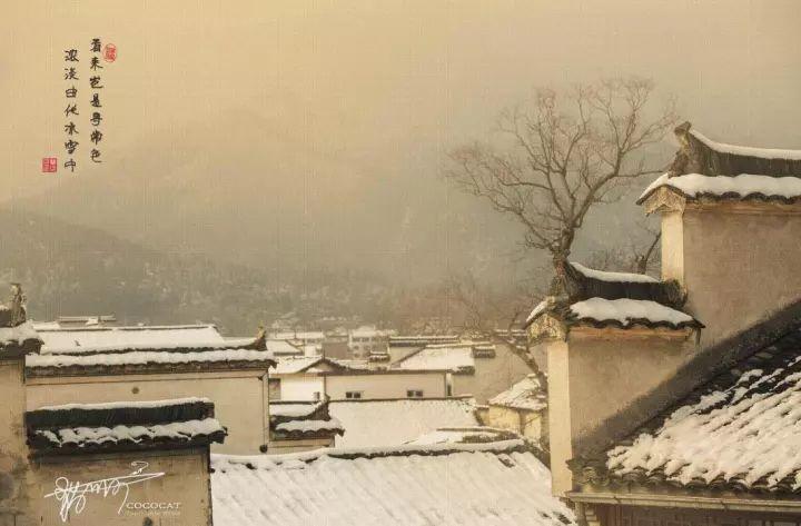 当最美的古镇下了雪,简直惊艳了整个冬天_5