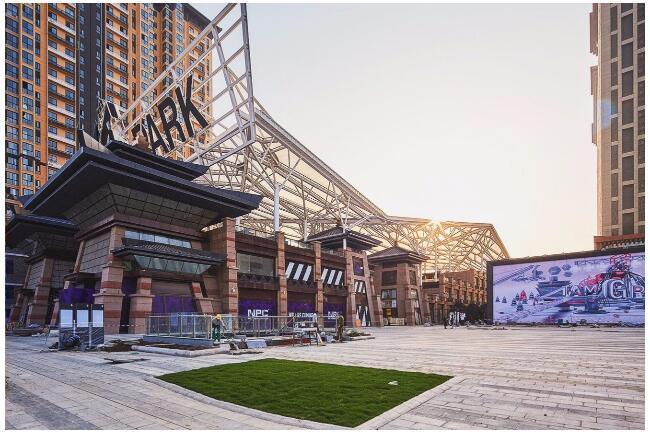 ETFE膜结构天幕--西安老城根Gpark-QQ截图20181204100826
