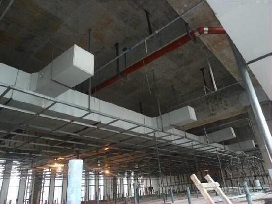 [QC成果]多功能厅吊顶装饰与设备末端安装定位控制