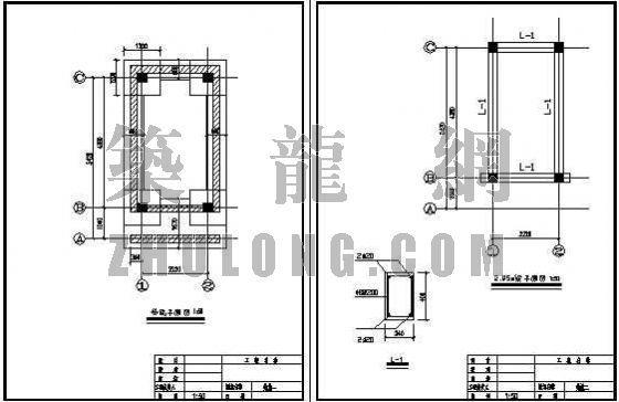 警卫室结构设计图纸