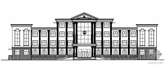 临城镇某计划生育综合服务站建筑施工图
