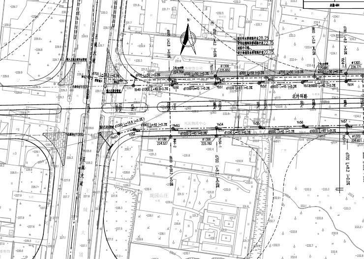 洛阳市城市主干路排水工程施工图设计