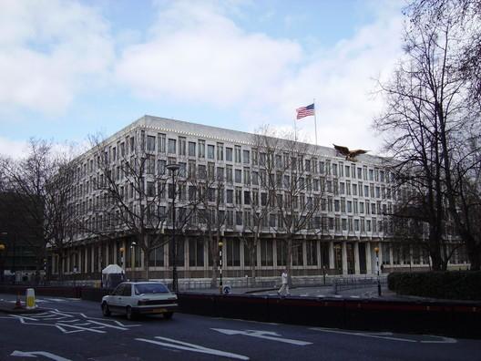 奇普菲尔德将改建美国大使馆建筑-美国大使馆