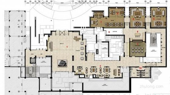 [青岛]简约大气售楼处设计方案含效果图