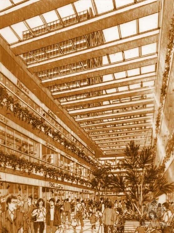 130米超高层城市综合体设计效果图