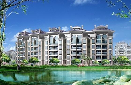[广州]生态休闲度假城规划景观设计方案-景观效果图