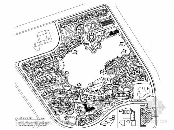 [天津]花园型居住区景观规划设计施工图