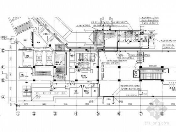 [四川]地铁线工程大型站点给排水初步设计图纸(含设计说明书)