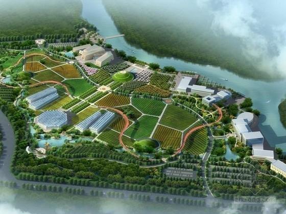 [浙江]大型生态农业园规划及单体设计方案文本(知  名建筑设计)