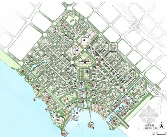 城市综合体总平面