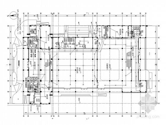 [安徽]机关办公楼全套电气施工图纸80张(知名设计院 安装大样)