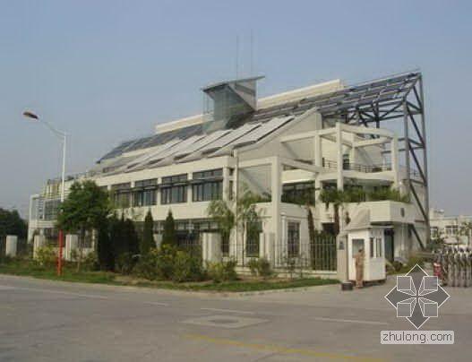 天津某生态城绿色建筑专题研究