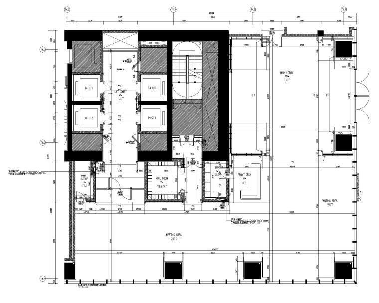 [SCDA&如恩]华润公寓样板间大堂+电梯间装修设计施工图&软装方案&效果图&物料表(CAD、JPG、PDF)