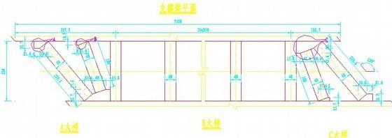 高速公路挡墙段盖板涵设计图纸
