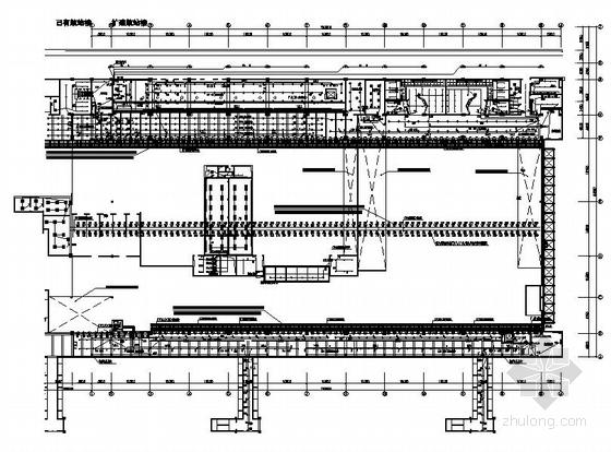 机场航站楼电气施工图纸