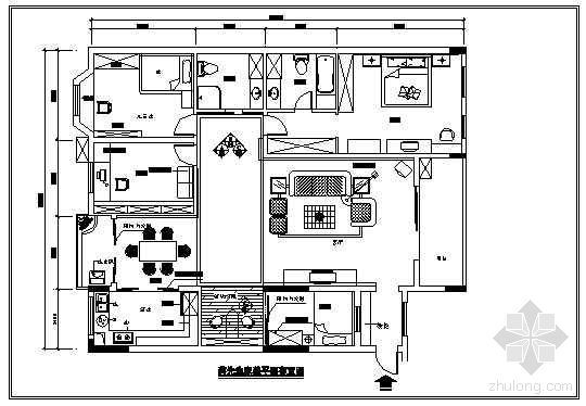 某私宅四居室装修施工图