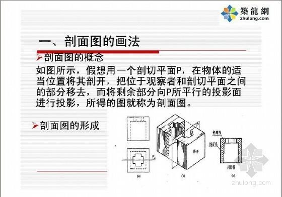 建筑工程识图与构造(第5章 剖面图与断面图)