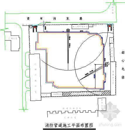 北京市某小区雨季施工方案(带附图)