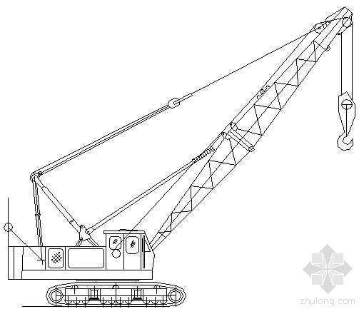 7个塔吊等机械cad图
