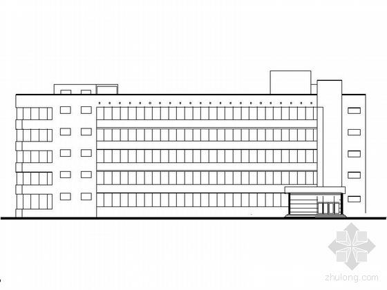 某五层精神病疗养院建筑施工图