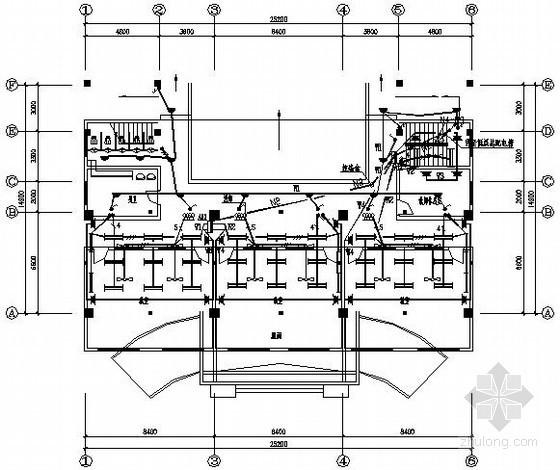 小学五层教学楼电气施工图纸