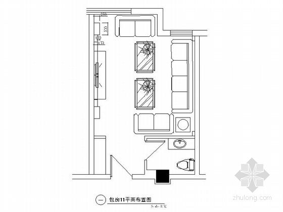 欧式娱乐会所资料下载-某欧式娱乐会所包房11装修图