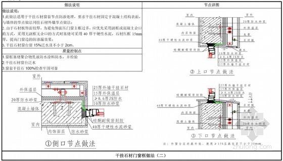 住宅工程标准化施工细部构造做法图集(防渗漏体系)