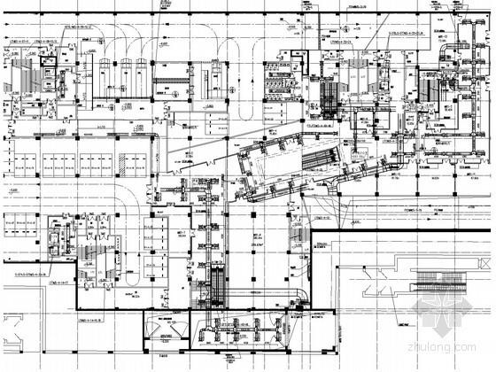 [广东]超高层商业办公综合楼暖通空调系统设计施工图(著名院设计 水蓄冷系统)