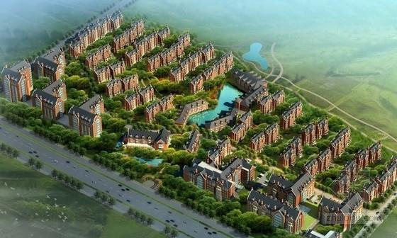 [辽宁]欧式风格住宅区规划及单体设计方案文本(国外知名建筑事务所)