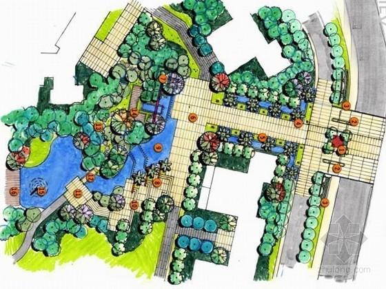 [珠海]皇家东南亚风格住宅规划设计方案