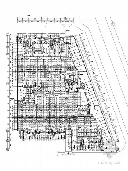 [湖南]五万平高层住宅小区给排水施工图(地下车库 气体灭火)