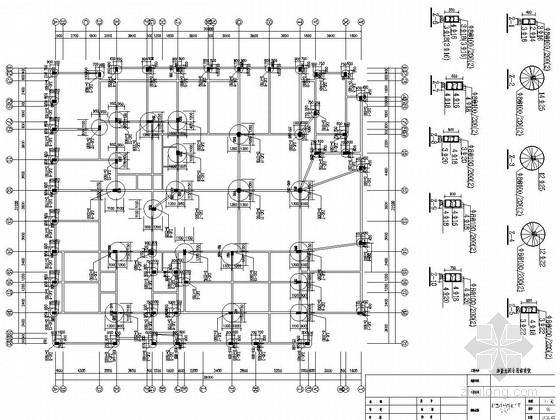 [江西]八层框架结构综合大楼结构施工图