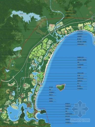海南三亚海湾规划设计方案