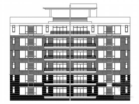 某五层一梯四户住宅楼施工图