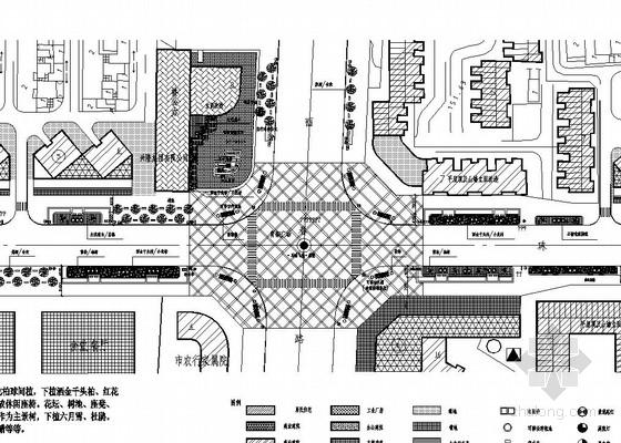 [洛阳]城市道路绿化及铺装景观工程施工图