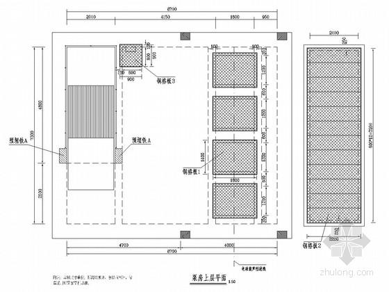 市政道路雨水泵站设计施工图(15张)