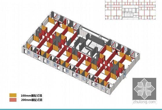 [四川]大型保障房装配式设计专题汇报-预制外墙--B户型