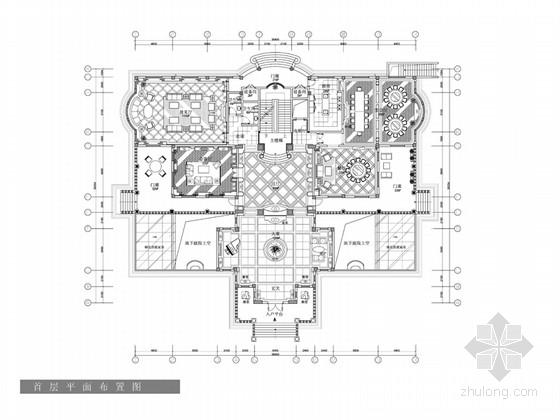 [福建]欧式超豪华三层别墅样板间设计方案(含效果图)