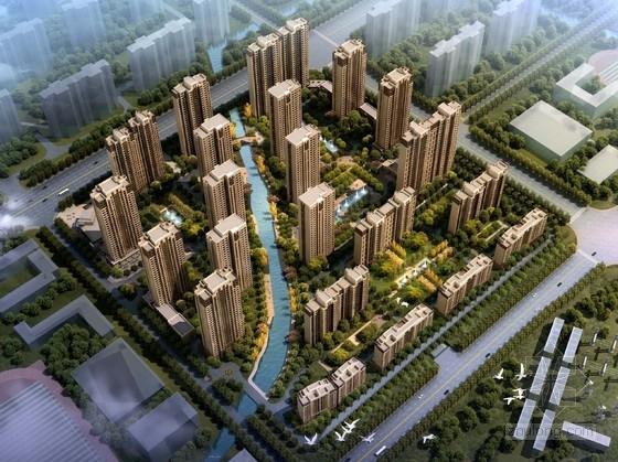 [江苏]超高层Artdeco风格住宅区规划设计方案文本(知名事务所)